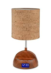 LighTunes LS1001 WOD BT Bluetooth Speaker Lamp With Alarm