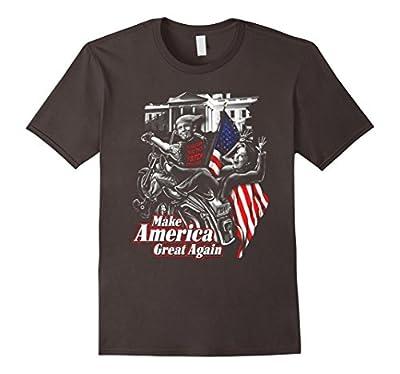 Biker t-shirt, Funny biker shirts, Biker for trump