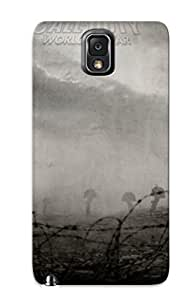 Design For Galaxy Note 3 Premium Tpu Case Cover Call Of Duty - World At War Protective Case