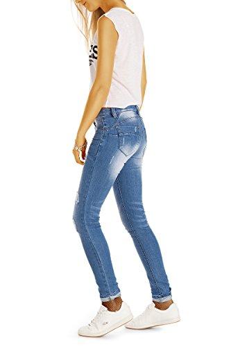 Da Slim Jeans Donna Ripped J51i Skinny Bestyledberlin Blue 8qwAg5x