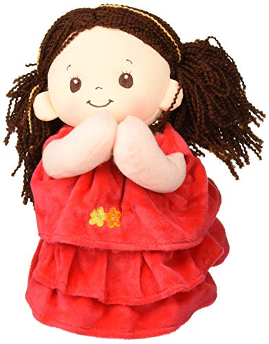 (Linzy Toys Hanna Recites Spanish Prayer Musical Red Doll Plush 10
