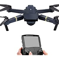 2.4G 4CH 6-Axis Gyro 720P WIFI FPV Foldable Arm Selfie Drone Quadcopter w/High (Black, 1Set)
