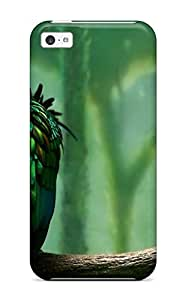 Evelyn C. Wingfield's Shop Best 6438378K27357125 Shock-dirt Proof Green Bird On Tree Branch Case Cover For Iphone 5c