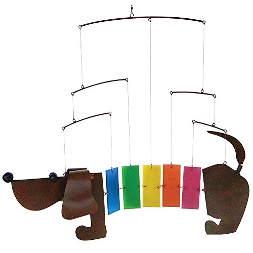 Cheap Dachshund Wind Chime, Dachshund Wiener Dog Mobile Windchime
