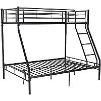 De tres capas cama doble hoja de metal