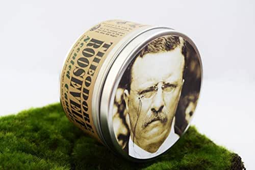 Theodore Roosevelt-Scented Candle | AKA Teddy Roosevelt | Funny Father's Day gift | Gift for Dad | History Buff Gift | Political and Presidential