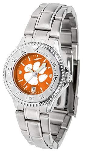 (Clemson Tigers - Ladies' Competitor Steel AnoChrome)