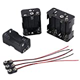 3Pcs 4/6/8 X 1.5V AA Battery Holder with Standard