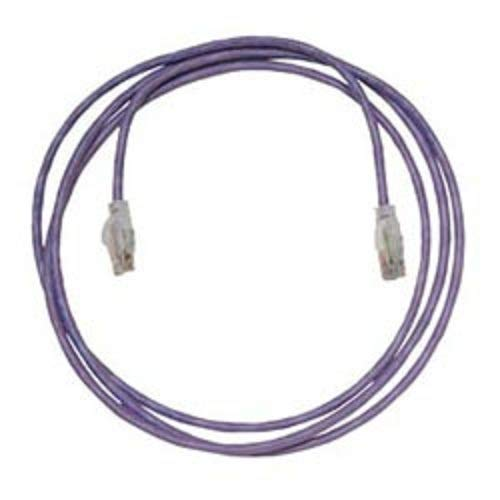 Purple 25 ORTRONICS MC625 RJ45-RJ45 Cat6 UTP Modular Patch Cord Pack 4