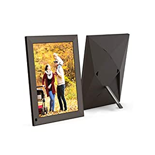 BSIMB 10 Inch WiFi Cloud Digital Photo Frame Digital Picture Frame 2K(2048×1536) IPS Retina Touch Screen Motion Sensor Sent Photos from Anywhere Support iOS/Android.Facebook.Twitter.Email(Twili) BX1