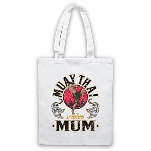 Muay My Thai Icon amp; Blanco Bolso Expert Mum Clothing Art Martial Arts fTqIwnTZO7