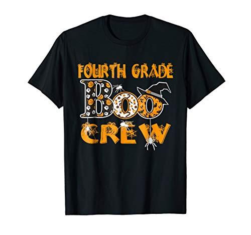(Halloween Fourth Grade Shirt Funny The Boo Crew)