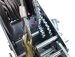 Amazon.com: AC-DK Cabrestante de engranaje de mano viene con ...