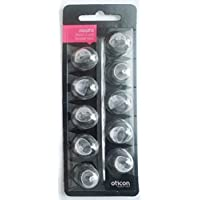 Oticon MiniFit Double Vent Bass Domes: (Extra Large