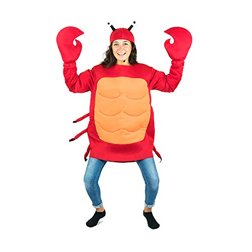 Bodysocks Adult Crab Fancy Dress Costume -