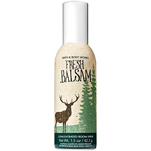 Bath and Body Works Fresh Balsam Concentrated Room Spray 1.5 Ounce (2018 Edition) - Fragrance Concentrated Spray Home