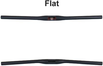 Carbon Bicycle Handlebars MTB Cycling Road Bike Flat Riser Bars 5° 7° 31.8mm UD