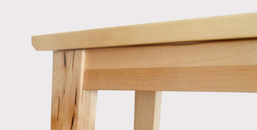 AO-stools Nordic Simple Birch bar Stool high Stool bar Chair 74x37x38cm by AO (Image #8)