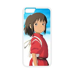 iPhone 6 Plus 5.5 Inch Cell Phone Case White Spirited away YWJ Back Custom Phone Case