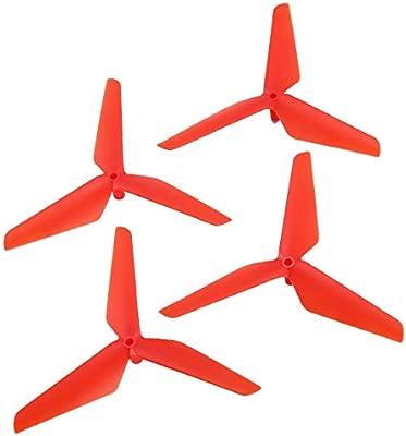 HONZIRY 2 Pares CW / CCW Propeller Props Blade para Syma X5C RC ...