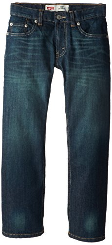 Levi's Boys' 505 Regular Fit Jeans,Cash, 8