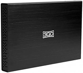3GO HDD25BK12 - Caja para disco duro de 2.5