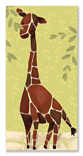 Oopsy Daisy Gillespie The Giraffe by Meghann O'Hara Canvas Wall Art, 12 by - Giraffe Gillespie