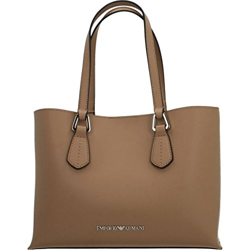 EMPORIO ARMANI SMOOTH SHOPPING BAG Y3D084YH19E 80010 Beige