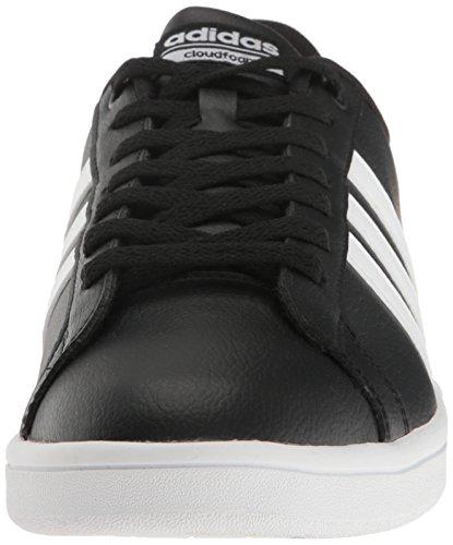 Noir Advantage cloudfoam Blanc homme Chaussures Blanc Adidas basses Clean Uv1W6