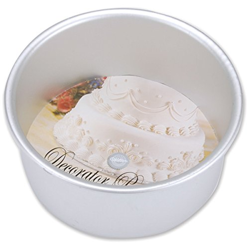 "Wilton Decorator Preferred Cake Pan, 6""x3"" Round, 2105-6106"
