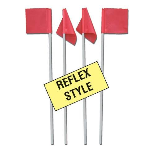 Markers Reflex Soccer Corner Flags (Set of 4) by Markers