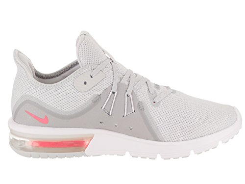 Nike Women's Air Max Sequent 3 Running Shoes Pure Platinum/ Racer Pink-wolf Grey bHfxja5r