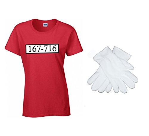 2Store24 Banda Bassotti Costume Set - T-Shirt da Uomo JGA Carnevale Costume Carnevale 167-716 Mini C: T-Shirt/Guanti