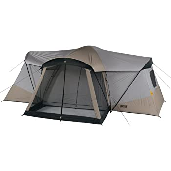 amazon com kelty ridgeway by sonoma cabin dome tent with 4 rooms