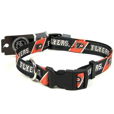 Hunter New! Medium Philadelphia Flyers NHL Dog Collar