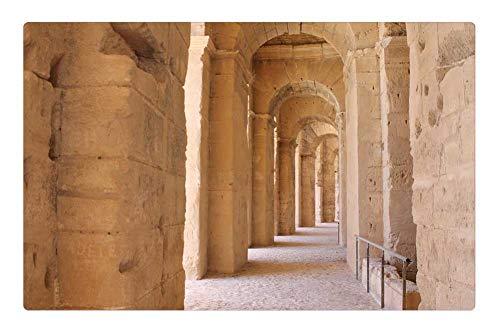 (23.6 x 15.7 Inch) - Tunisia El Jem Amphitheater The Ruins of The ()