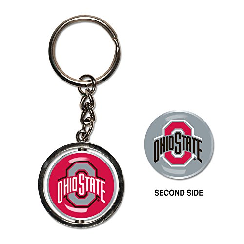 - NCAA Ohio State University Spinner Key Ring