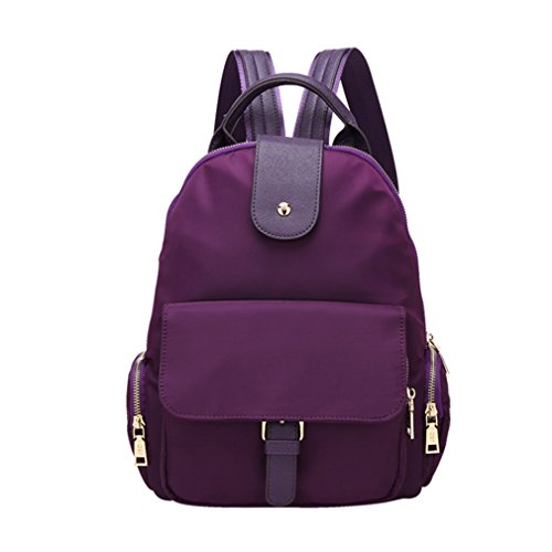 FAIRYSAN - Bolso mochila  para mujer morado morado small morado