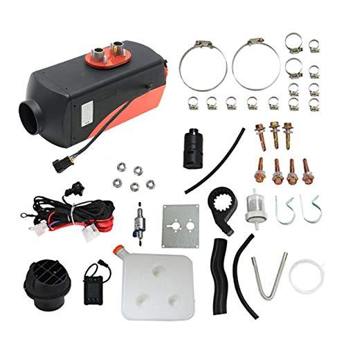 12V 5000W LCD Schalter Calentador de Aire para vehículos Camiones Automóviles Yates Barcos Autocaravanas Aire Acondicionado...