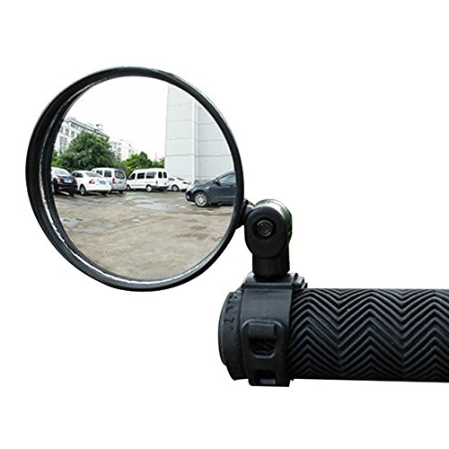 Pierre Mirror - Pierre LaMarreDS Universal Mini Rotaty Rearview Handlebar Glass Mirror For Mountain Road Bike Bicycle Cycling (2 Pack)