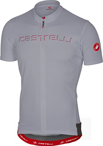 Castelli 2017 Men s Prologo 5 Short Sleeve Cycling Jersey - A17019 ... f1d3cb74c