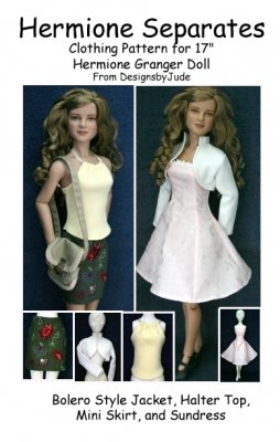 """Separates Pattern for 17"""" Nancy & Hermione"""