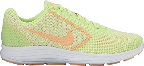Revolution Glow Para 3 Nike white sunset Correr Wmns Multicolor Mujer Green white ghost Zapatos fqxAFCw