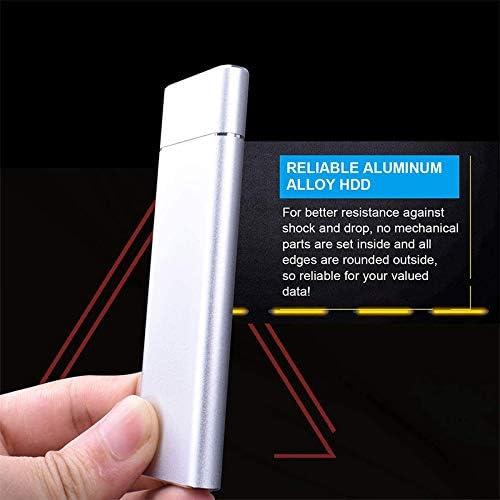 USB3.1 Gen1 HDD para Computadora Port/áTil SYUN Disco Duro Externo de 1TB Disco Duro Port/áTil Disco Duro Externo Ultra Delgado Tipo-C PC