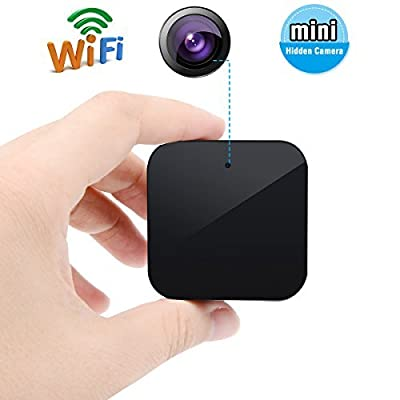 SpyGear-Corprit Black Mini Wifi USB Adapter Hidden HD Spy Camera 1080P Covert Nanny Wall Charger Camera Home Surveillance and Security Camera with Free 16G Micro SD card - corprit