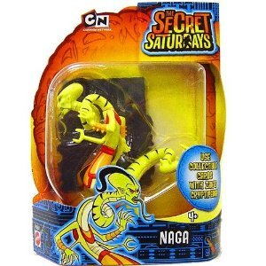Naga - Secret Saturday Action Figure