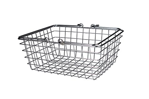 Spectrum Diversified Wire Storage Basket, Medium, Chrome (Chrome Wire Basket)