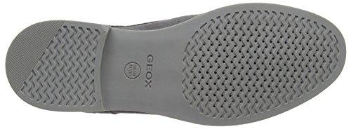 Geox U Danio C - Zapatos Derby Hombre Gris (DK GREYC9002)