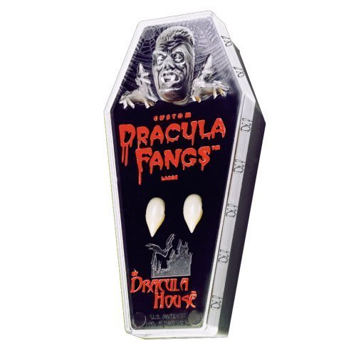 [Dracula Fangs Costume Accessory] (Dracula Teeth)