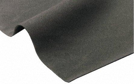 Closed Cell Neoprene Sponge Rubber Foam Sheet 1/8' x 39' x 41' (Grey)